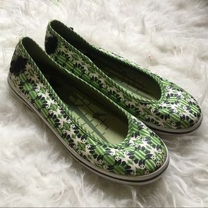 Keds panda Eleanor canvas flats sz6.5